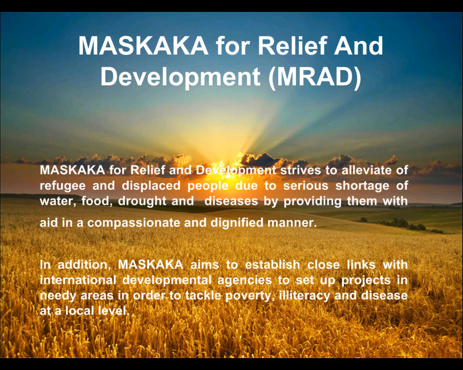 MASKAKA for Relief & Development